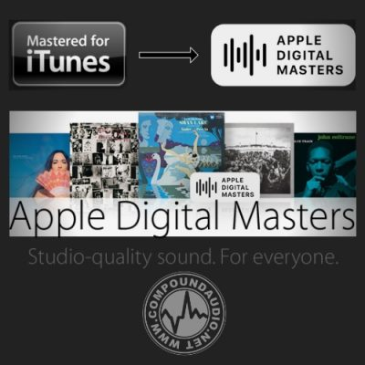 Streaming & Apple Digital Masters